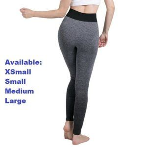 Gray with Black Fade Yoga Pants
